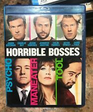 Horrible Bosses (Blu-ray Disc, 2011) Used