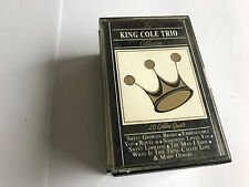 KING COLE TRIO CASSETTE COLLECTION -  RARE