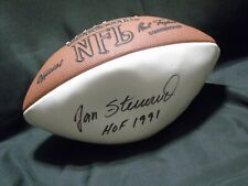 "JAN STENERUD ""HOF 1991"" Autographed Signed Official Wilson White Football NO COA"