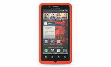 Luxmo Motorola Droid Bionic Xt875 Red Soft Silicone GEL Skin Cover Case