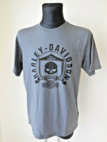 Harley Davidson Herren Skull B&S Totenkopf T-Shirt Shirt  grau 99032-17VM