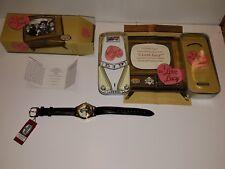 I Love Lucy Fossil Watch LI-1632 w/Tin Car, Box, COA--Ltd Ed 0778/1000