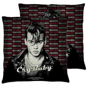 """Cry Baby """"Drapes And Squares"""" Double Sided Throw or Body Pillow"""