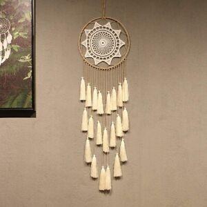 Tassel Handmade Feather Ornament Craft Macrame Tapestry Dream Catcher Blanket