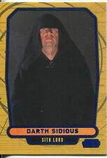 Star Wars Galactic Files Blue Parallel #8 Darth Sidious