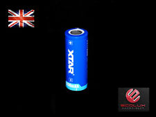 XTAR 26650 Battery 3.7V 5200mAh Li-Ion Genuine Xtar UK Protected for Torch Light