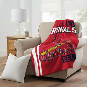 St Louis Cardinals - Plush Throw Blanket (MLB - walk off)