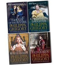 Philippa Gregory Collection 4 Books Box Set The Red Queen Kingmakers Daughter PB