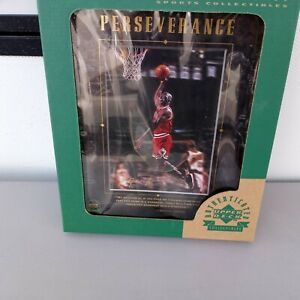 "Michael Jordan Autographed Upper Deck 9""x 11"" Framed, NEW In Original Box"