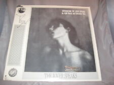 The Lover Speaks LP vinyl record, 1986 A&M Records, Rock/New Wave[INV-15]