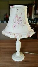Simply Shabby Chic Rachel Ashwell BLUSH BEAUTY Rose SMALL Ruffled Lamp - Shade
