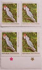 Indonesia 1981 - 2 pairs Birds, Cockatoo MNH (2)