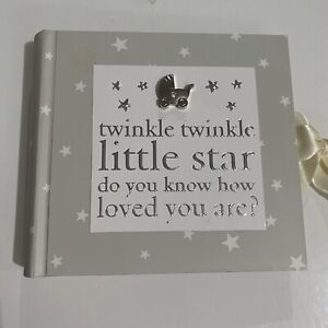 Bambino Twinkle Twinkle Little Star Baby Photo Album Pictures 80 Count 4x6 NEW