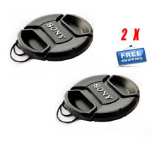 NEW 2X Sony Front Lens Cover Cap / For Sony A200 A300 A350 A230 A330