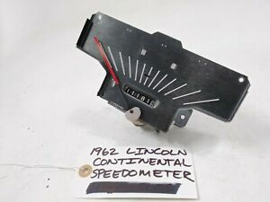 OEM 1962 Lincoln Continental speedometer assembly C1VF-17255-E