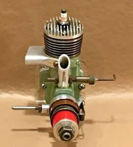 Excellent Mounted 1947 Orwick .23 3,000 Series CL Spark Ignition Model Airplane