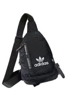 Adidas Crossbody Sling Bag Camouflage (Black, Purple, Blue)