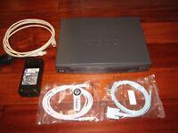 Cisco 886VA 2-Port 10/100 Wired Router (CISCO886VA-K9) MINT