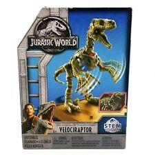 Jurassic World Fossil Strikers Velociraptor STEM Easy To Assemble NEW