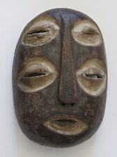 """Vintage African Lega Bwami Initiation Mask/8 1/2""""H x 5 1/2"""""""