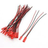 10 Pares 22AWG 150mm Cable w 2Pin JST M F Enchufe para RC Bateria Motor AC