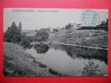 ST-HONORÉ-LES-BAINS  :  Etang de la Queuldre......VO.1906.