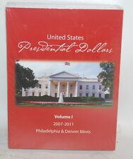 Dealer Lot 6 - US Presidential Dollars Vol. I 2007 - 2011 Coin Folder