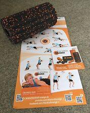 Blackroll naranja 30 cm Groove estándar de masaje papel entrenamiento DVD de ejercicios póster