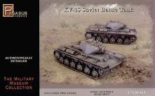 Pegasus 1/72nd Scale WWII Russian KV-1S Battle Tank Model Kit W/ Two Tanks NEW!