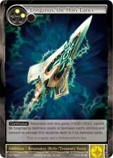 4x Longinus, the Holy Lance - TAT-009 - C M/NM Force of Will FOW