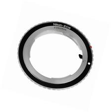 Fotodiox Lens Mount Adapter - Nikon Nikkor F Mount D/SLR Lens to Canon EOS (EF,