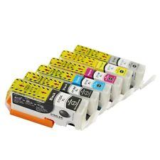 6 Ink Cartridges PGI570xl CLI571xl for Canon MG7700 MG7750 MG7751 MG7752 MG7753