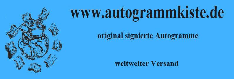 Autogrammkiste