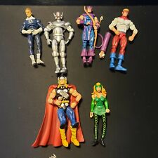 Marvel Universe 3.75 Thor & Enchantress Fantastic & Ultron Hawkeye & Piledriver