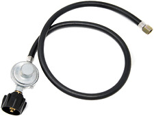 BBQ Burner Connector Propane Adapter Hose Regulator LPG Gas Tank Fire Pit Grill