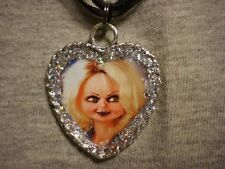 Tiffany Bride Of Chucky Heart Style Doll Necklace Horror Collectible Jewelry