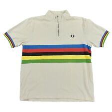 FRED PERRY Herren Polo Shirt Gr.42 Poloshirt Radtrikot Cycling Jersey Maliot TOP