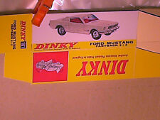 REPLIQUE BOITE FORD MUSTANG FASTBACK  / DINKY TOYS 1966