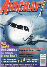 AIRCRAFT ILLUSTRATED DEC 98: 1999 COL. PLATE CALENDAR/CANADA IN KOSOVO/ GR1 2 BA