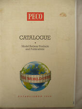 PECO 1994 MODEL RAILWAY CATALOGUE with 1995  price list