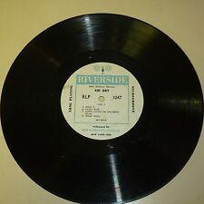 "JAZZ 33RPM 10"" LP RECORD ONLY - KID ORY / BUNK JOHNSON- RIVERSIDE 1047"