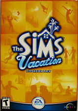 The Sims Vacation Expansion Pack PC Game Windows 2002 CD Complete