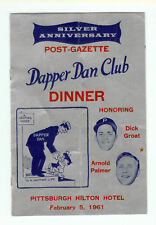 1961 Dapper Dan, Signed by Bill George & Johnny U, JSA