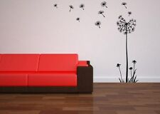 Huge Dandelion Flower Wall Stickers Decal stylish Room Sticker 120cm Height NEW