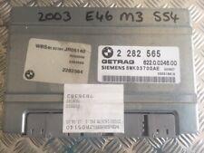 BMW E46 01-06 M3 GEARBOX ECU SMG TRANSMISSION ECU E46 M3 2282565 5WK33700AE 2...