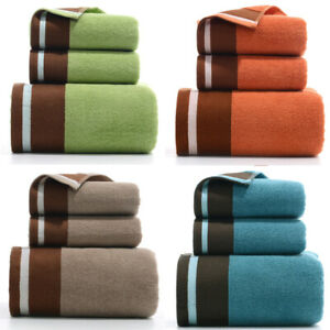 Luxury Towels 3-Piece Towel Set Towel & Bath Towel For Bathroom Softness Cotton