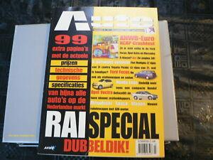 AUTOKAMPIOEN ANWB RAI SPECIAL DUBBELDIK 1989 PRIJZEN +TECHNISCHE GEGEVENS MODELS