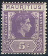 Lightly Hinged George VI (1936-1952) Mauritian Stamps