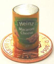 1.12 échelle vide macaroni au fromage tin poupées maison miniature accessoire alimentaire canettes