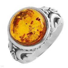 Unbranded Amber Fine Gemstone Ring